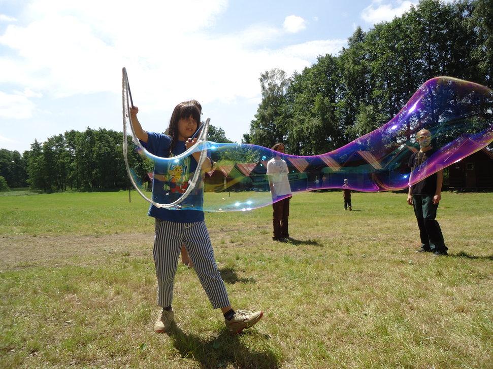 V rámci letního dětského tábora pořádáme nejrůznější workshopy